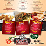 Old Town Pizza Catering Menu - Elgin