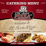 Old Town Pizza Catering Menu - Schaumburg
