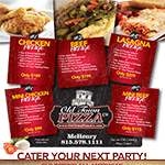 Old Town Pizza Catering Menu - McHenry